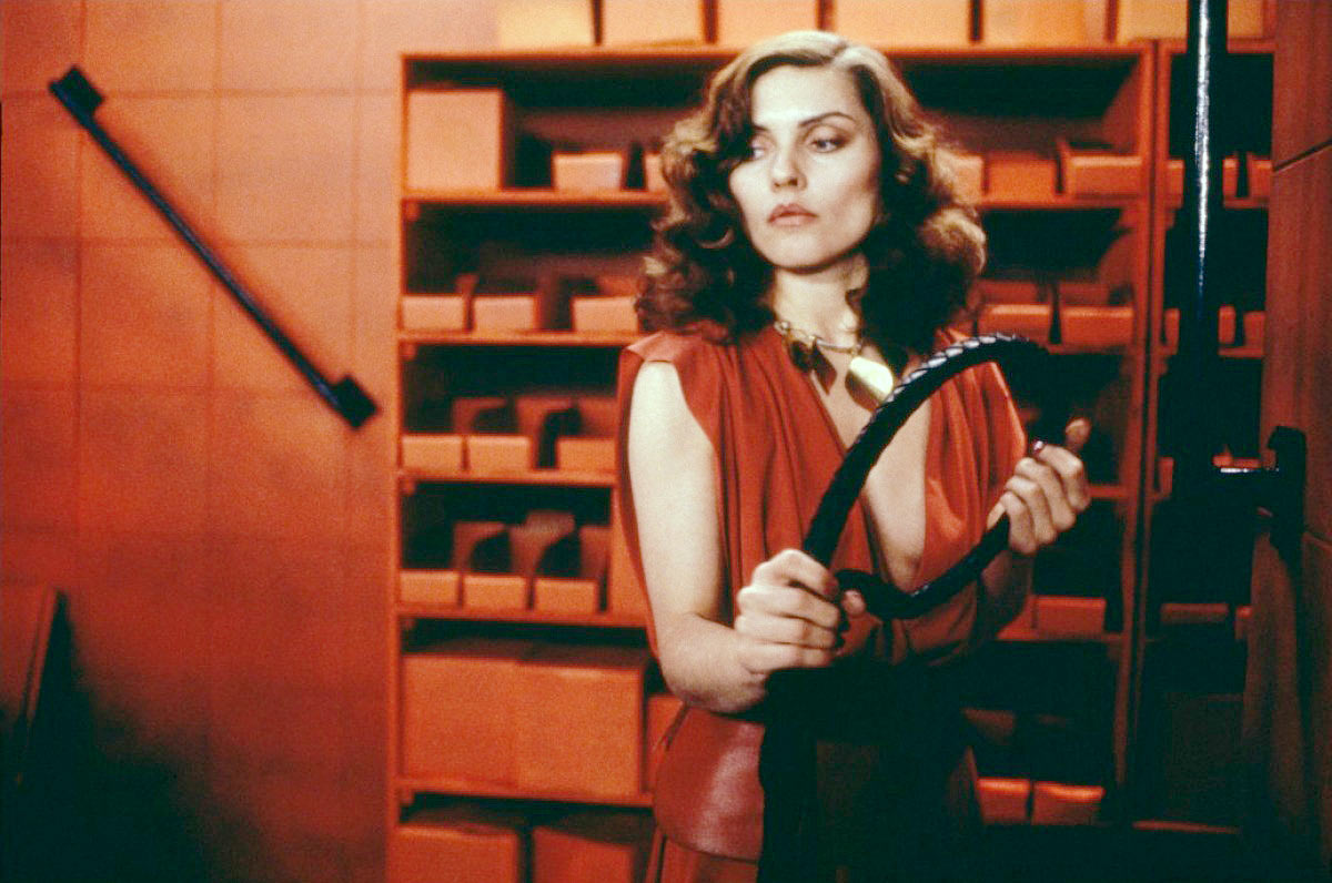 Debbie Harry in <i>Videodrome</i>