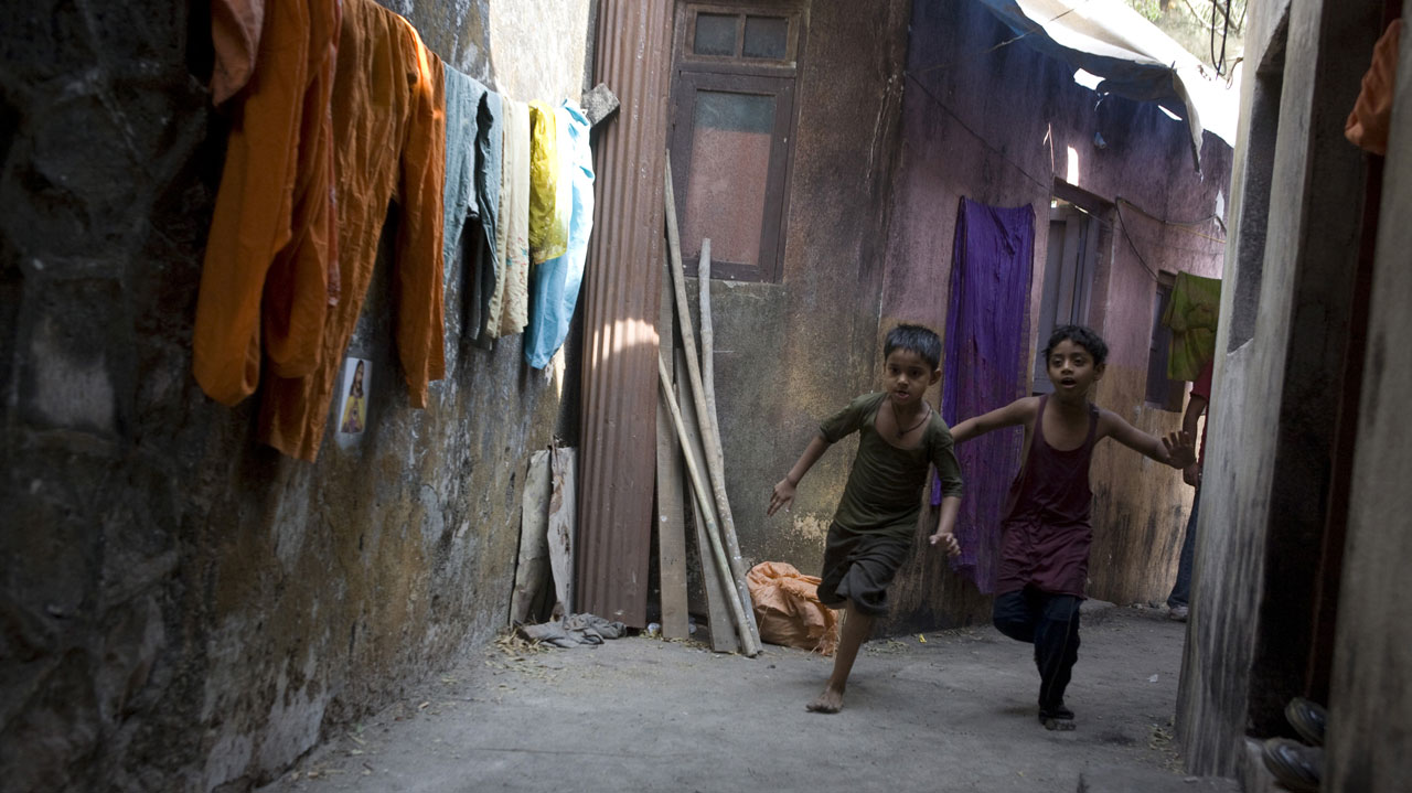 Still from Slumdog Millionaire