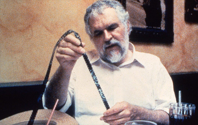 Stan Brakhage at work
