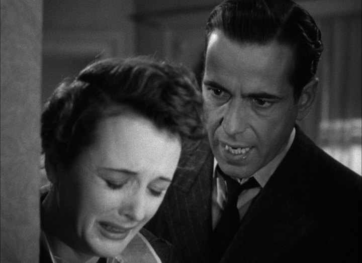 Humphrey Bogart and Mary Astor in <em>The Maltese Falcon</em>