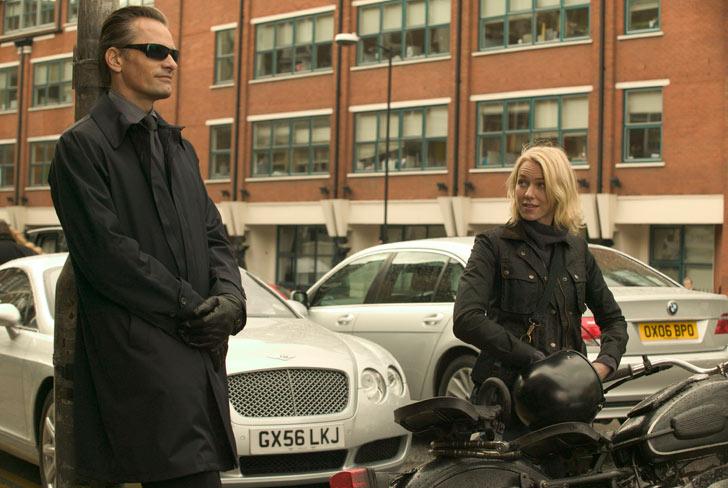 Viggo Mortensen and Naomi Watts in <i>Eastern Promises</i>