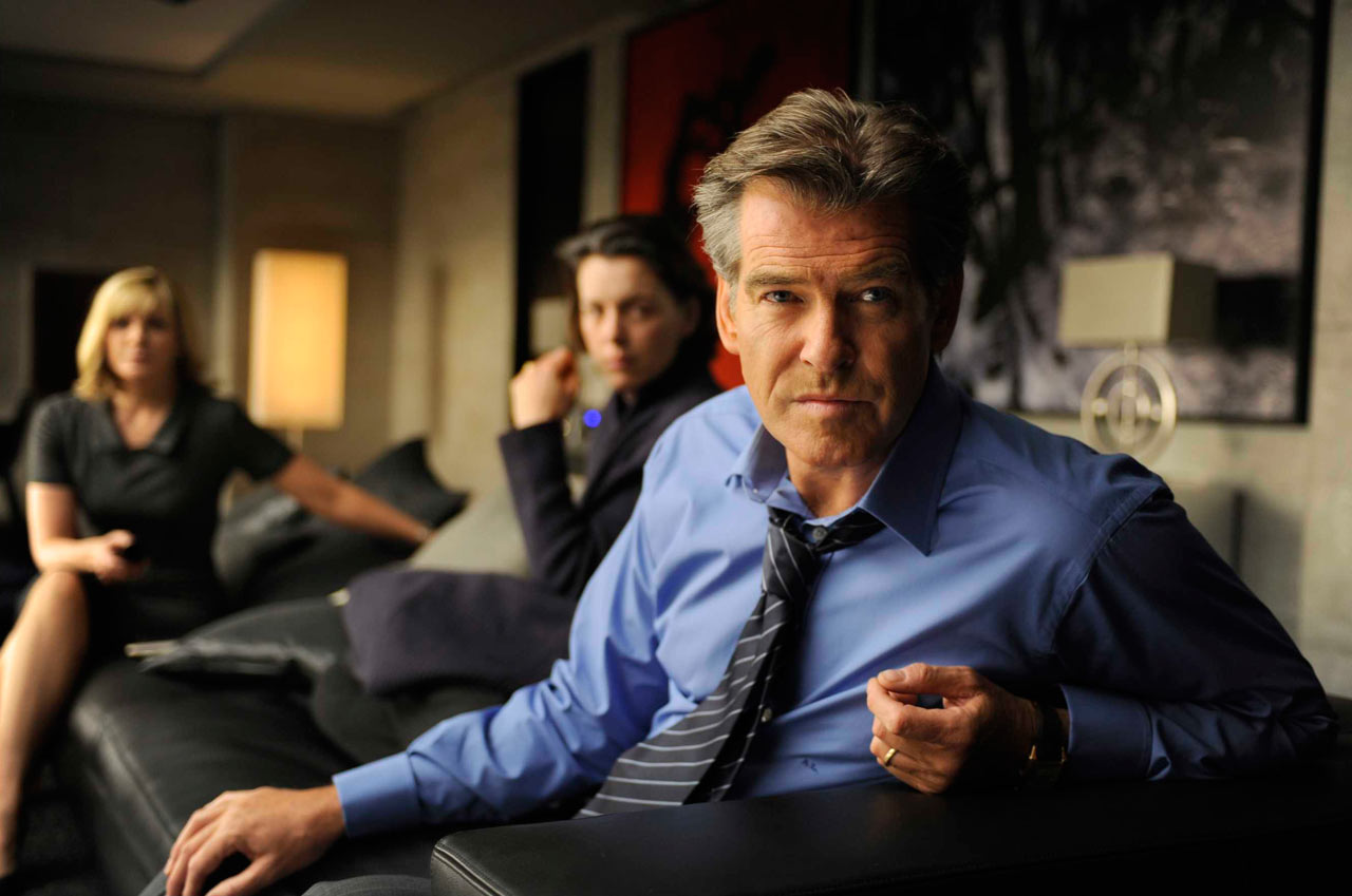 Pierce Brosnan in <em>The Ghost Writer</em>